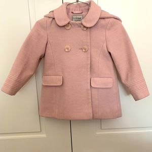 Next Direct Little Girl Pink Coat size 3-4
